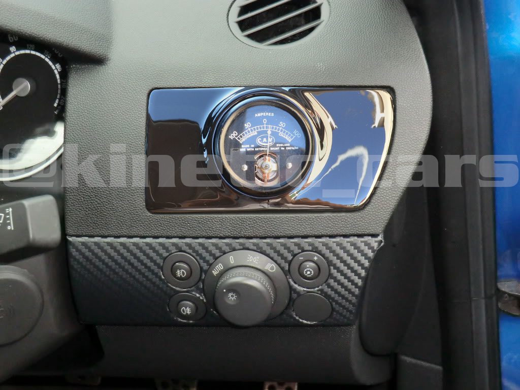 Vauxhall astra h mk5 air vent twin gauge pod adapter gloss for Astra h tablet install