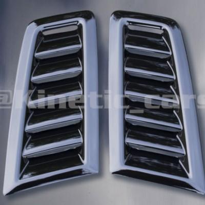 RS Focus MK2 bonnet vents Gloss Black finish