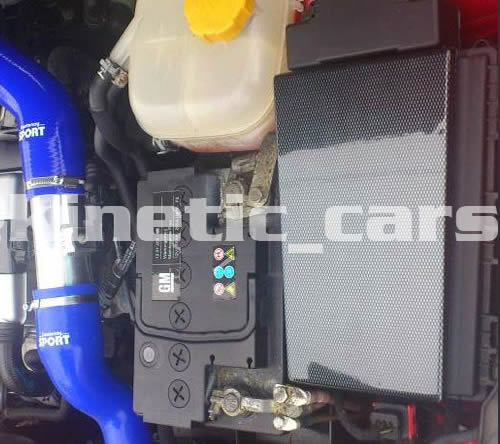 Astra VXR Carbon fibre effect fusebox cover ABS.