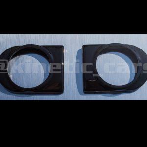 500 444 Corsa C gauge bezels black