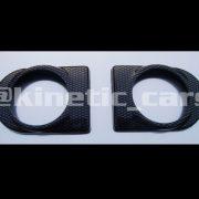 500 444Corsa C gauge bezels carb
