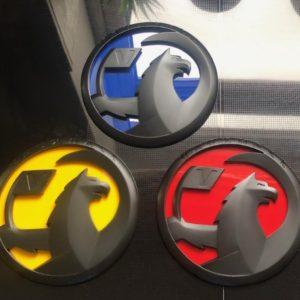corsa d badges small